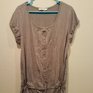 Gray Old Navy tunic top size XL